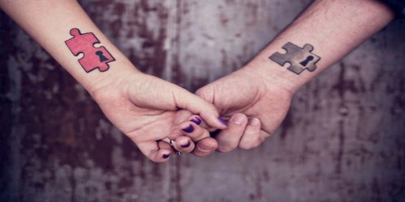 46 Puzzle Piece Tattoos With Connecting Pieces And Meanings