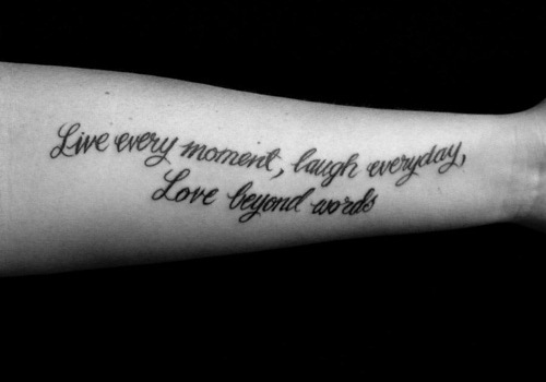 20 Fun And Spirited Live Laugh Love Tattoos Tattoos Win