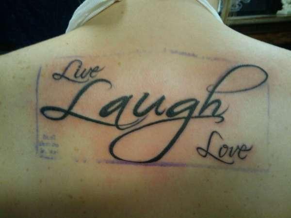 20 Fun And Spirited Live Laugh Love Tattoos Tattoos Win
