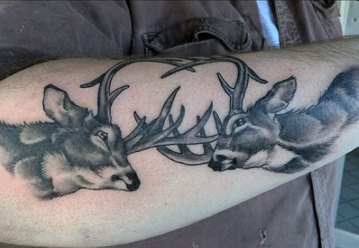 24 Deer Antler Tattoos With Powerful Meanings Tattooswin
