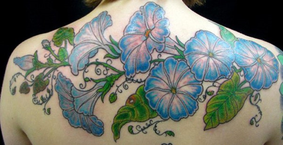 32 Morning Glory Tattoos With Colorful Meanings Tattoos Win