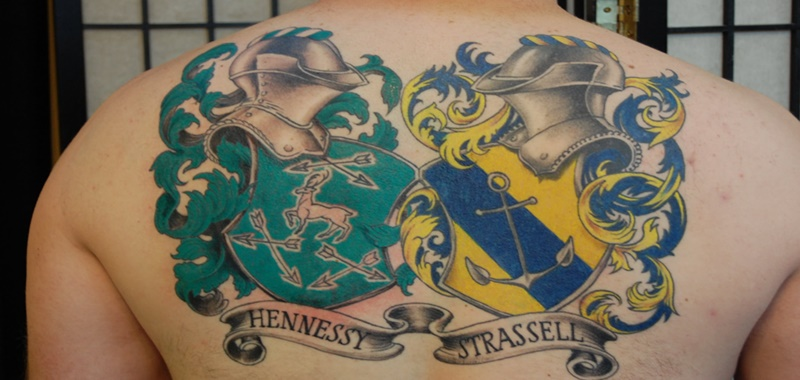 35 Family Crest Tattoos With Pride Tattoos Win
