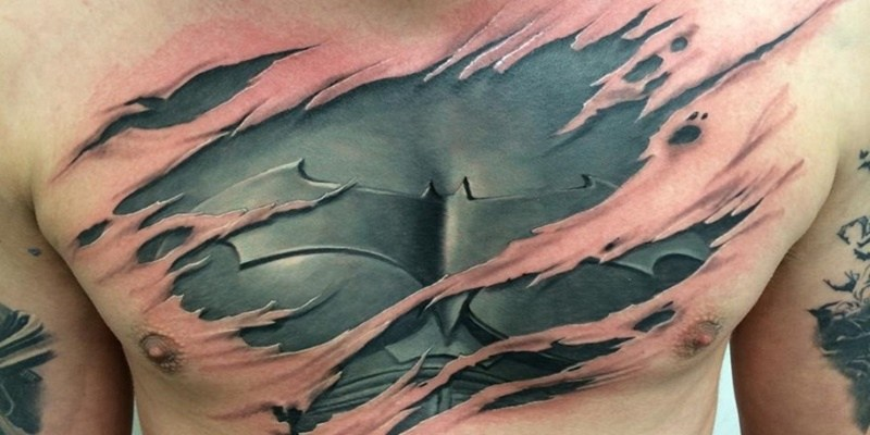 43 Torn Skin Tattoos With Revealing Concepts and Meanings ...