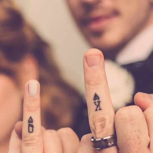 988f71b6f1163 44 Wedding Ring Tattoos With Diversifying and Creative Meanings - Tattoos  Win