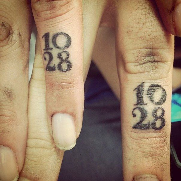 Christian Wedding Ring Tattoos: 44 Wedding Ring Tattoos With Diversifying And Creative