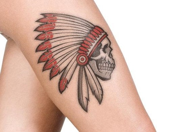 a1f9dcc7b31ab 37 Indian Skull Tattoos and Their Powerful Meanings - Tattoos Win