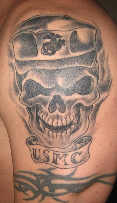 36 Marine Tattoos With Military Meanings - Tattoos Win