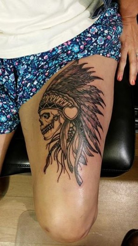 ebfc60d8e 37 Indian Skull Tattoos and Their Powerful Meanings - Tattoos Win