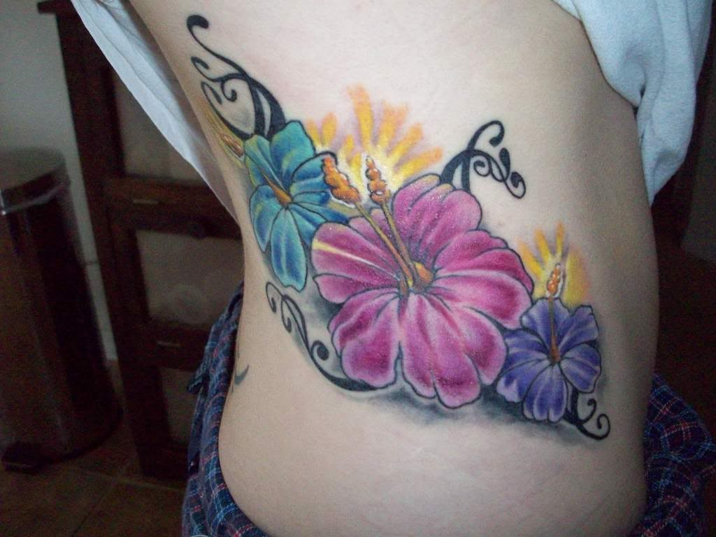 33 hibiscus flower tattoos with unique and colorful meanings pin it on pinterest izmirmasajfo