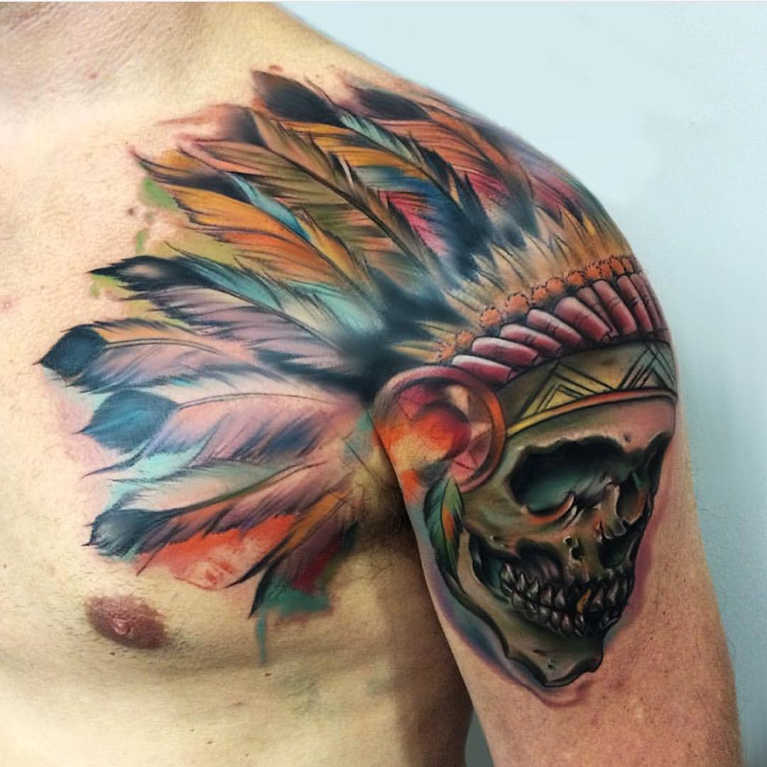 37 indian skull tattoos and their powerful meanings tattoos win swipe leftright to see more biocorpaavc