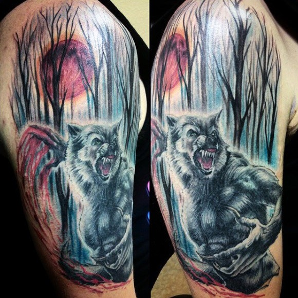 32 Werewolf Tattoos With Surprising Meanings - Tattoos Win