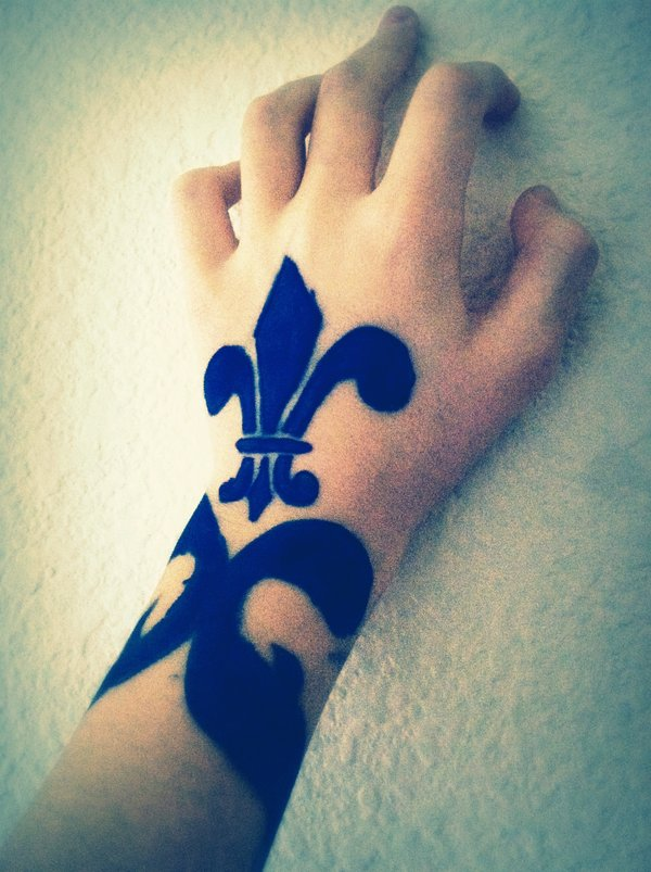 f67dcd4cadbe6 43 Fleur de Lis Tattoos With Symbolic Meanings and Representations ...