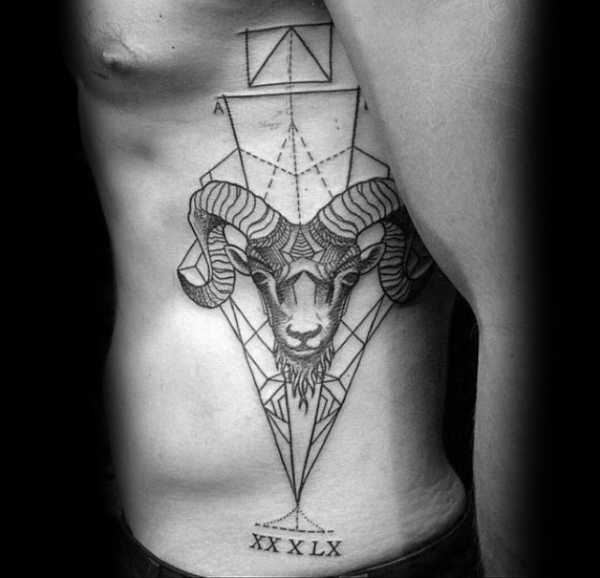 d06a2f6d51876 37 Aries Tattoos of Creative Freedom and Meanings - Tattoos Win