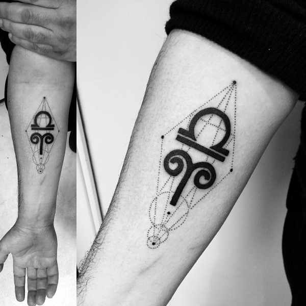 ed25bdda2dabf 37 Aries Tattoos of Creative Freedom and Meanings - Tattoos Win