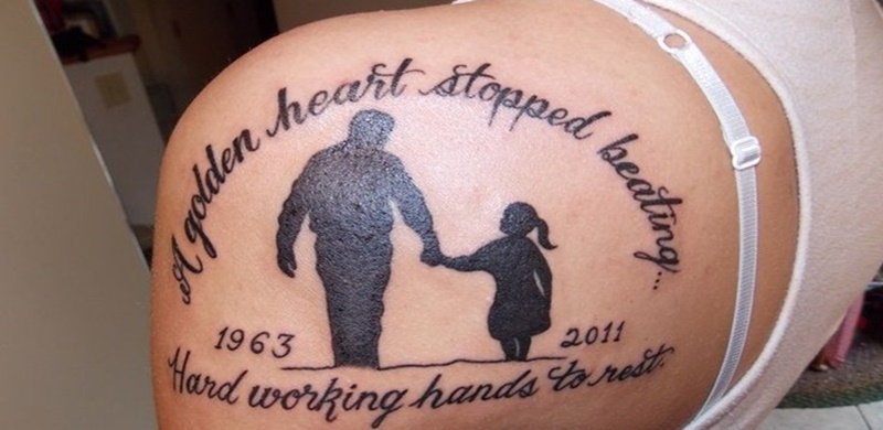Remembrance Passed Away Tattoo