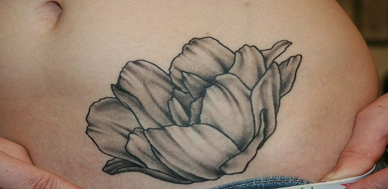 82444422b 34 Colorful Tulip Tattoos and Their Creative Meanings - Tattoos Win