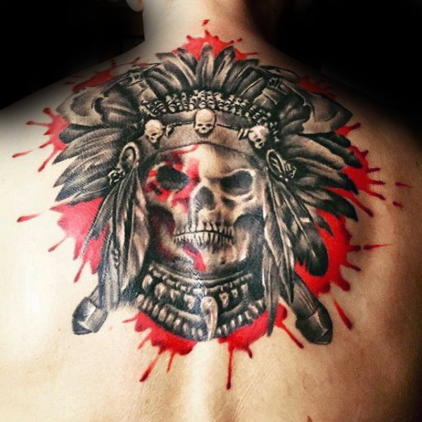 82936f03a 37 Indian Skull Tattoos and Their Powerful Meanings - Tattoos Win