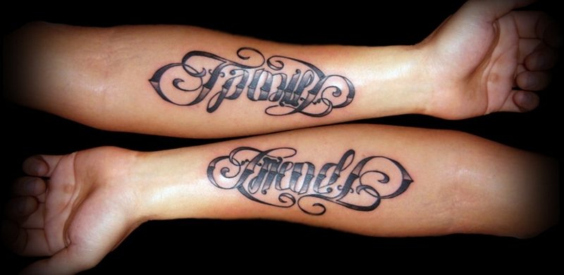 ambigram tattoos with incredibly creative meanings tattoos win. Black Bedroom Furniture Sets. Home Design Ideas
