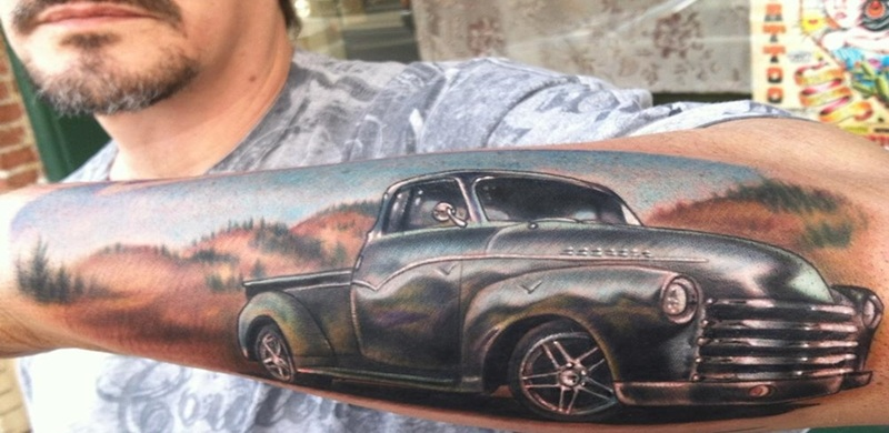 Car Tattoos With Unique Meanings And Associations Tattoos Win