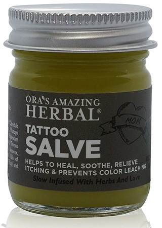Ora's Natural Tattoo Ointment Aftercare