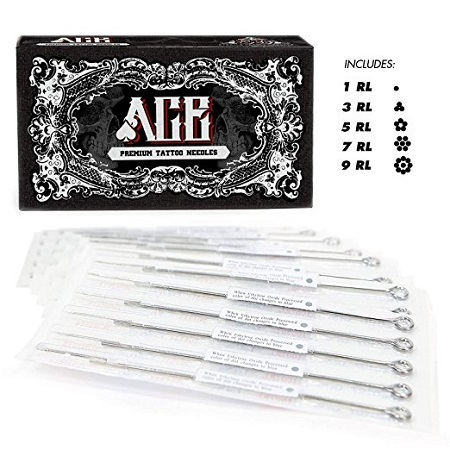 ACE Needles 50 Mixed Assorted Tattoo Needles
