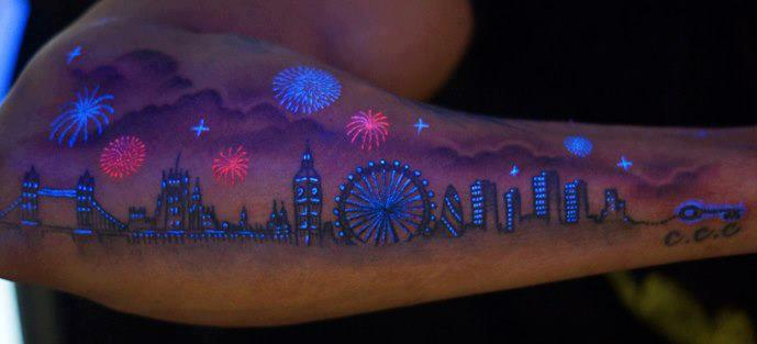 UV glow in the Dark Tattoo Ink