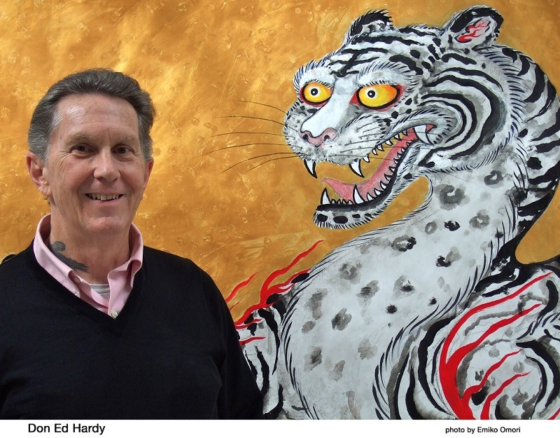 Don Ed Hardy is a world-famous tattoo artist known for the best tattoo designs