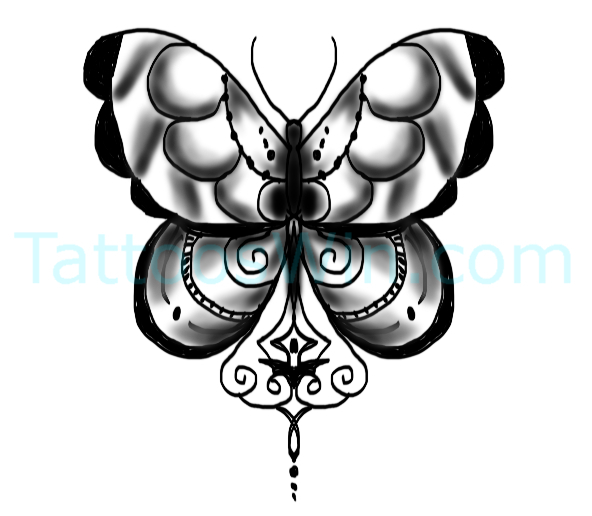 New Butterfly Tattoo Desings