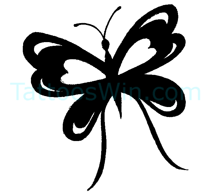 Butterfly Tattoo Desings