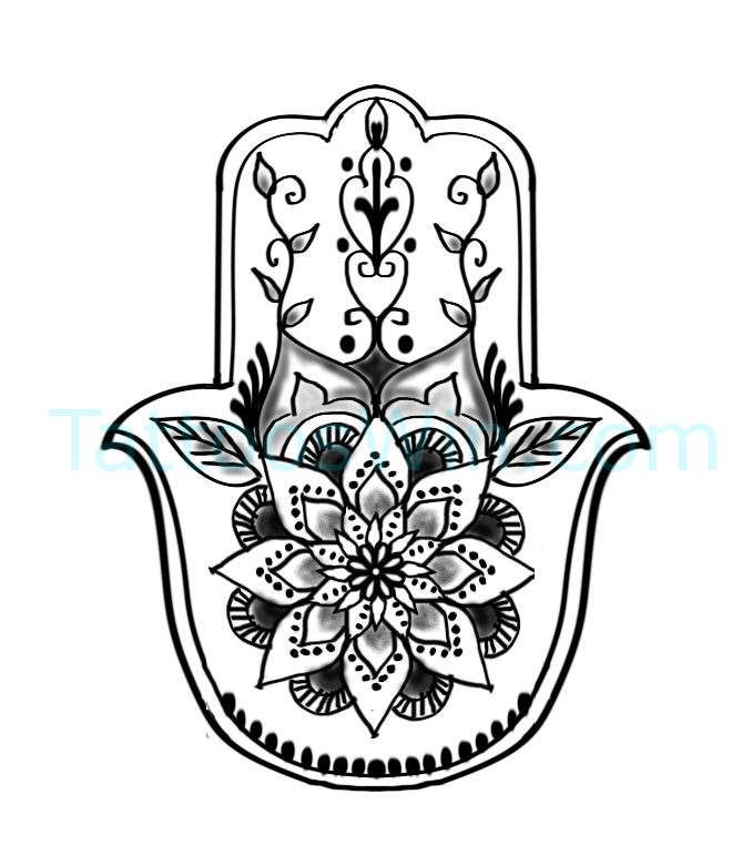 Original Hamsa Tattoo Designs HD and HQ