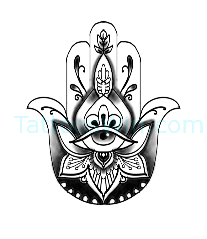 Hamsa Original Tattoo Designs