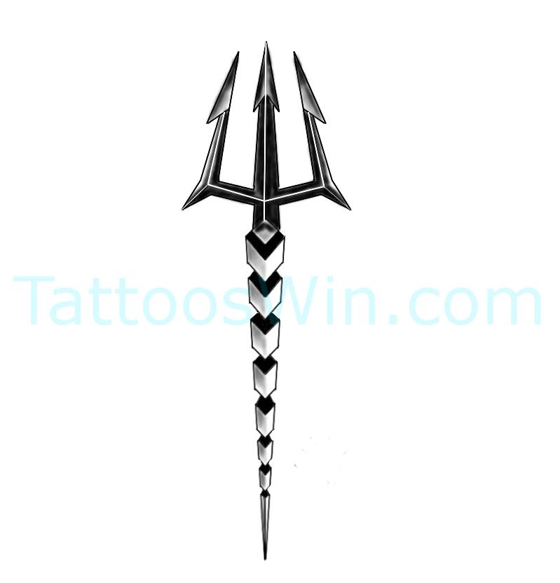 Trishul Tattoo Designs New And Original