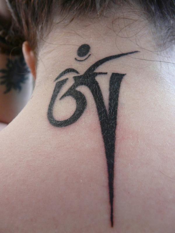 Tibetan Om Tattoo