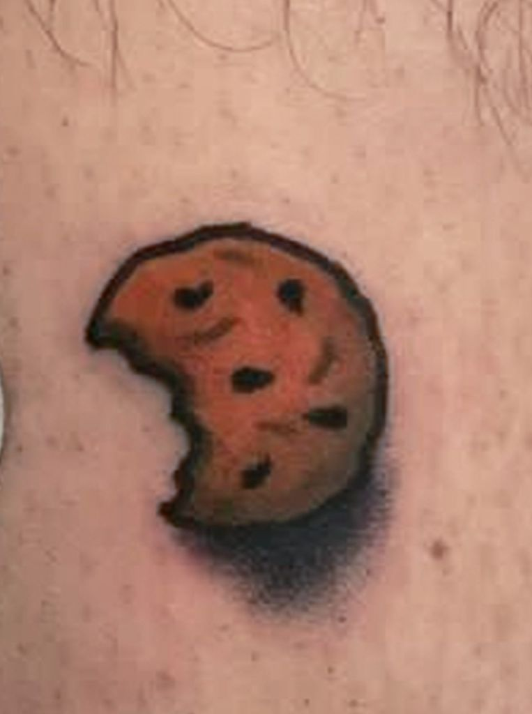 Cookie Tattoo Small