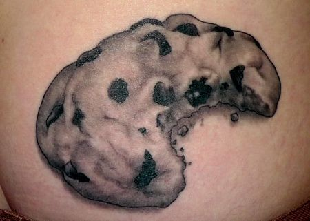 Chocolate Chip Cookie Tattoo