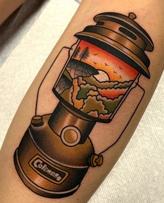 Lantern Tattoo Meaning With Cool Designs - TattoosWin