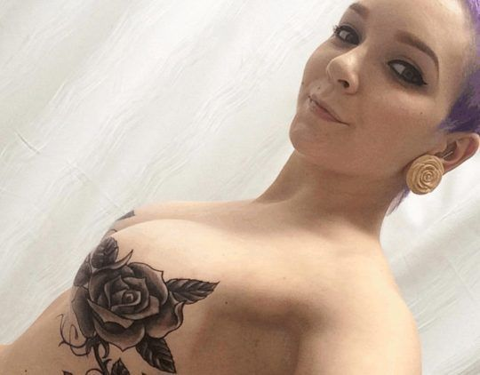 Mastectomy Tattoo Breast Cancer Tattoo by Allyson Lynch
