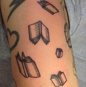 Books Tattoo.
