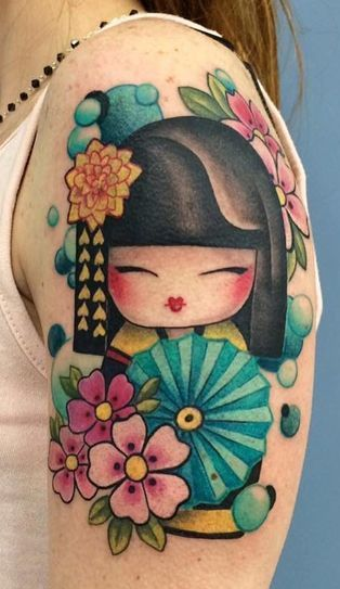 Matryoshka Doll Tattoo