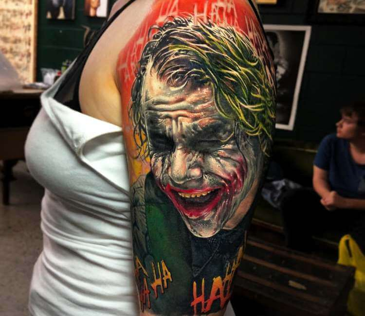 Joker Tattoo for Women