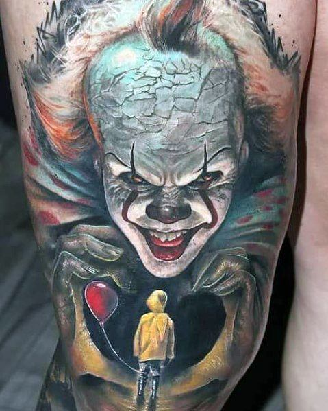 Joker Movie Tattoo