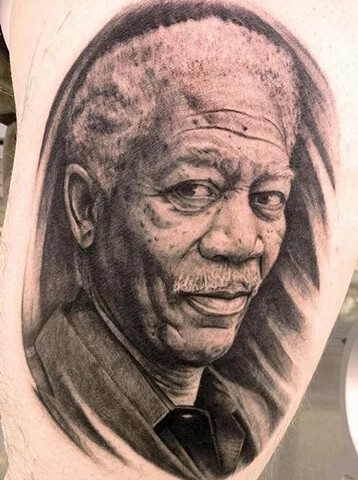 Portrait Tattoo.
