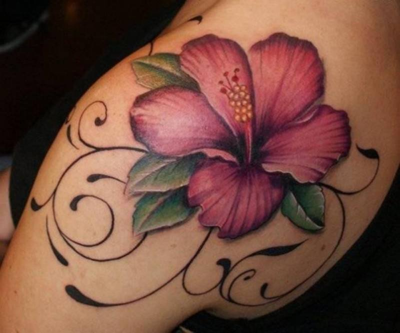 Magnolia Tattoo for Women