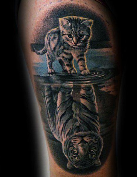 Brave Reflection Tattoo