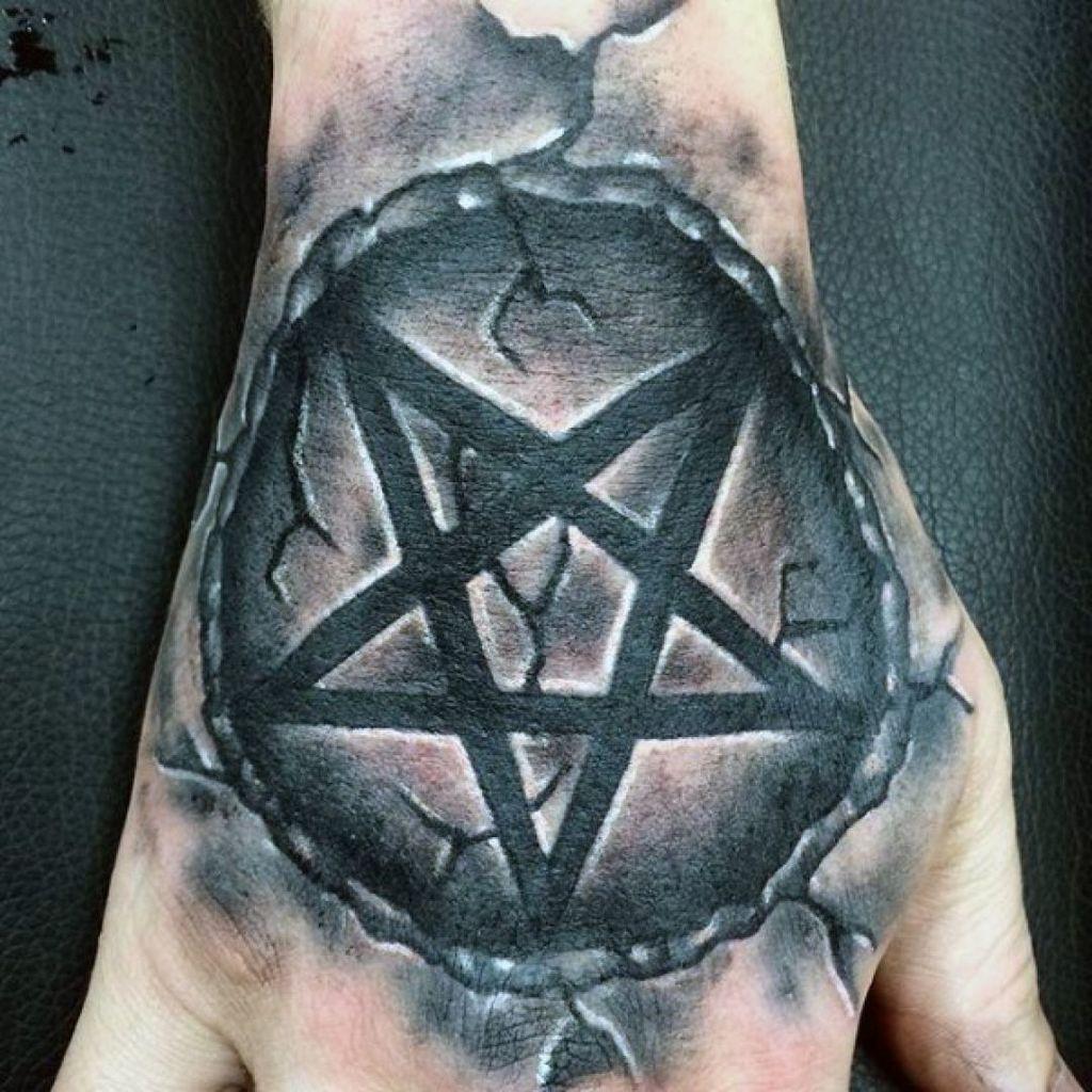 Star Tattoo on Hand