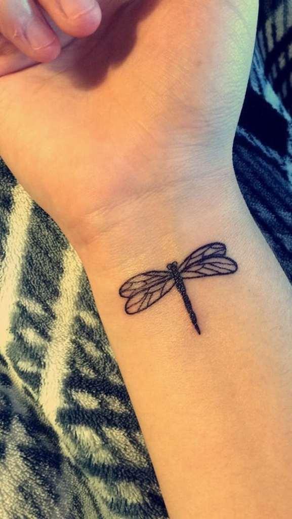 Dragon Tattoo on Wrist