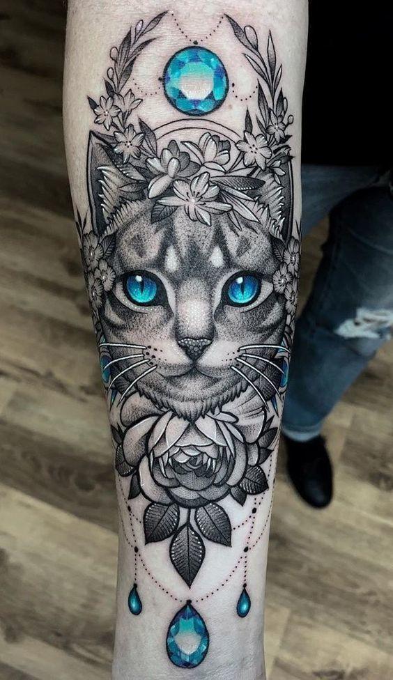 Gems Tattoo on hand