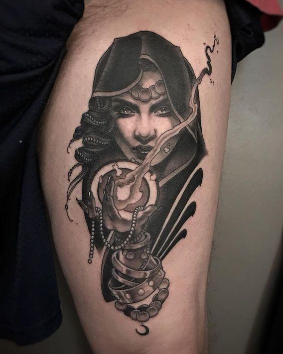 Dark Gypsy Tattoo  for Men