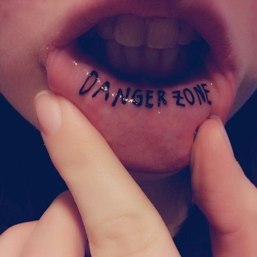 Lip Tattoo for women