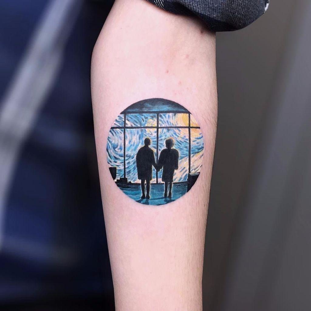 Tattoo on forearm for men